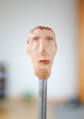 the ambitious, sculpture series, example of an art image, closeup