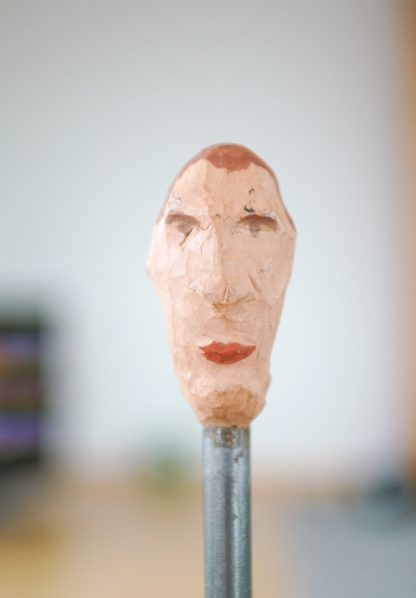 the normal one, sculpture series, example of an art image, closeup