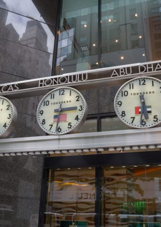 time is money, in Bangkok, Caracas, Honolulu, Abu Dhabi