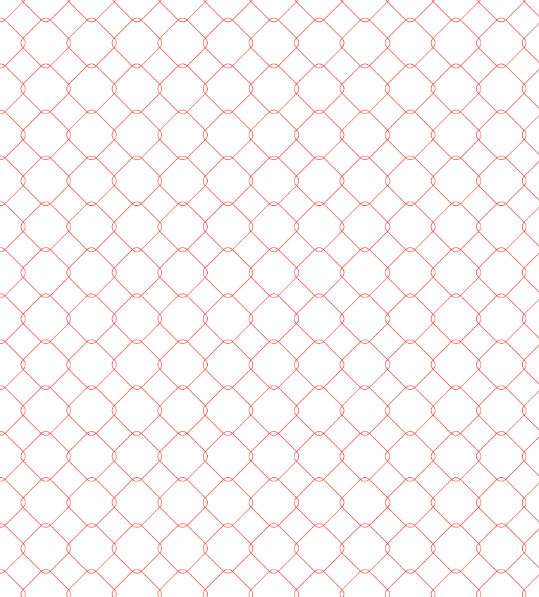 red rounded squares, geometric pattern series, seamless vectors, ideal for concept works, presentations and cover designs, vector templates made for Illustrator