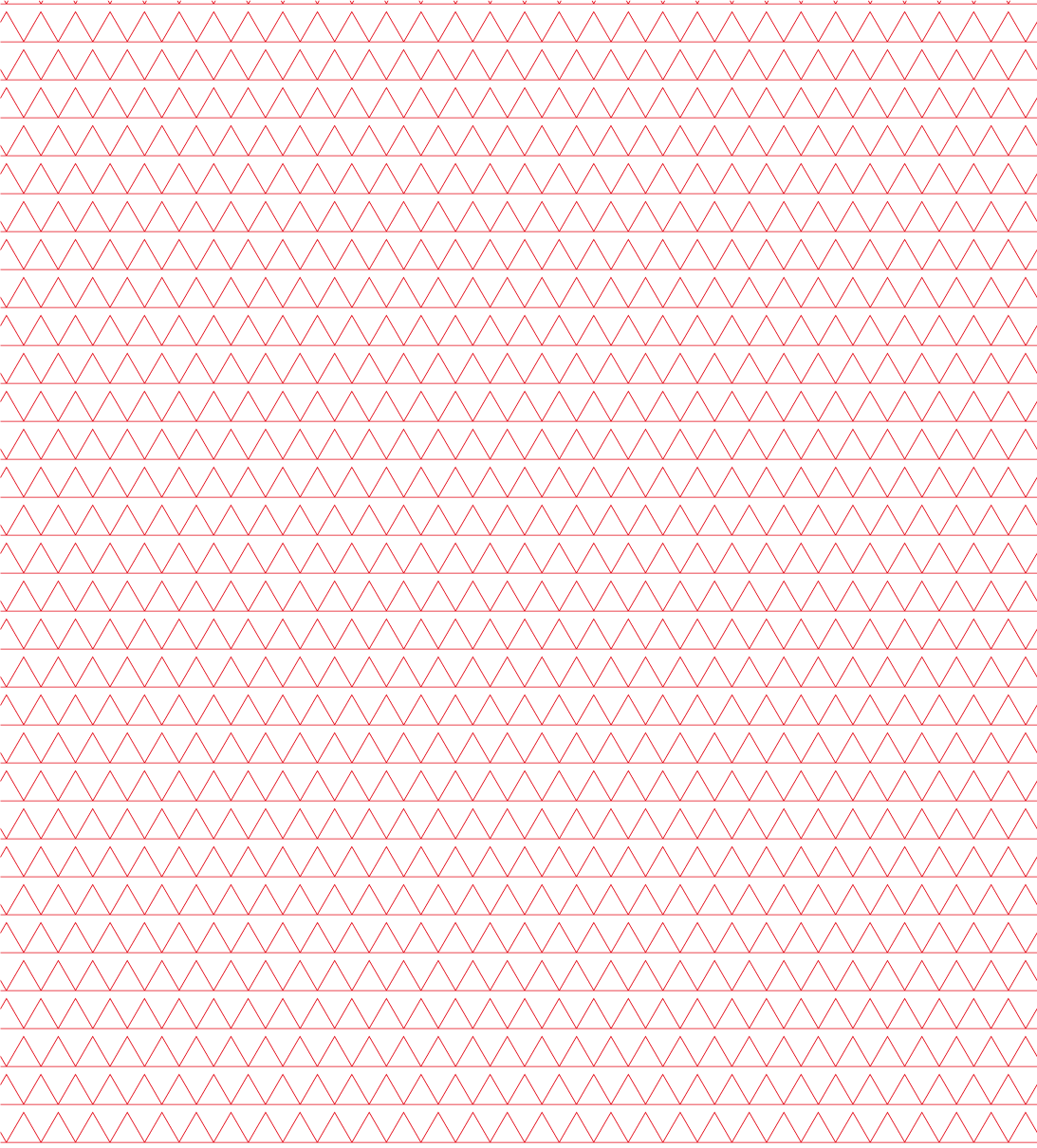 red triangles, minimalistic pattern vectors, seamless, ideal for concept works, presentations and cover designs, templates made for Illustrator