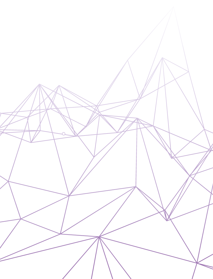 example 03 of a polygonal vector background with gradient
