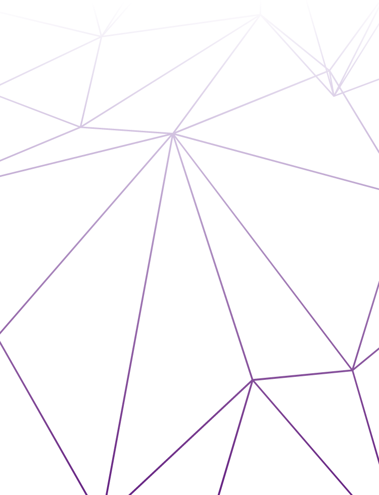example 02 of a polygonal vector background with gradient