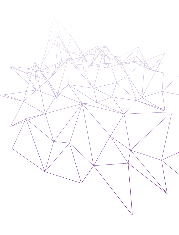 example 01 of a polygonal vector background with gradient
