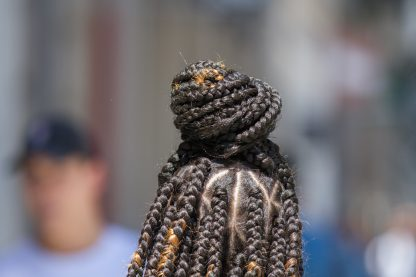 this image of braided hairs is much more than an image of braided hair
